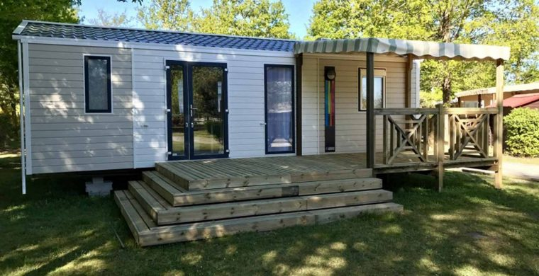 location mobil home gironde