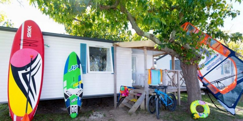 location mobil home presqu'ile de giens