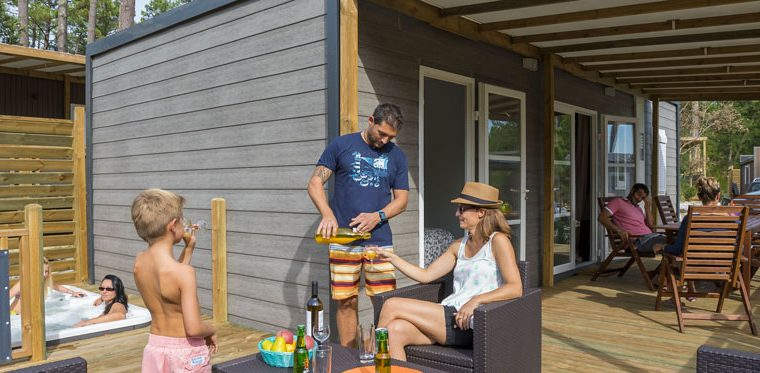location mobil home capbreton