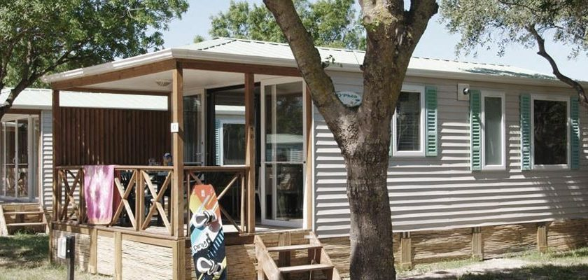 location mobil home Aude